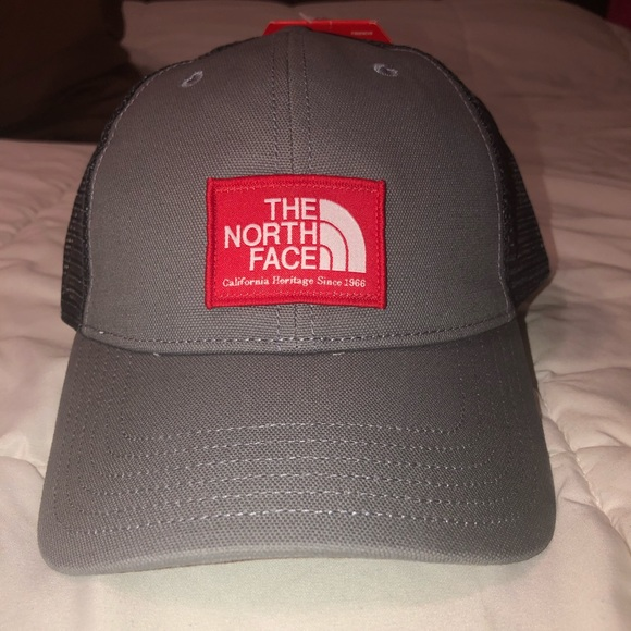 The North Face Other - NWT The North Face trucker hat Grey and black
